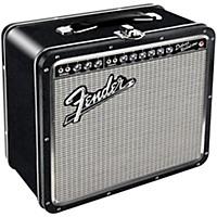 Hal Leonard Fender Black Tolex Metal Lunch Box (Blackface)