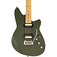 Reverend Kingbolt Electric Guitar Satin Army  ...