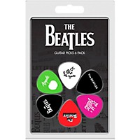 Perri's The Beatles 6-Pack Guitar Picks Various Albums 3