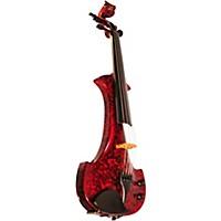 Bridge Lyra Series 5-String Electric Violin Red Marble