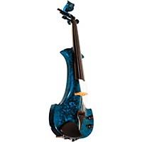 Bridge Lyra Series 5-String Electric Violin Blue Marble
