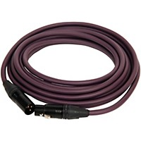 Asterope Pro Studio Xlr Microphone Cable Purple 4 Ft.
