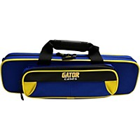 Gator Spirit Series Lightweight Flute Case Yellow And Blue