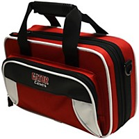 Gator Spirit Series Lightweight Clarinet Case White And Red
