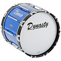 Dynasty Marching Bass Drum Blue 20 X 14  ...