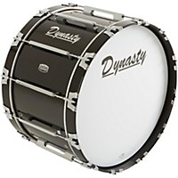Dynasty Marching Bass Drum Black 24 X 14  ...