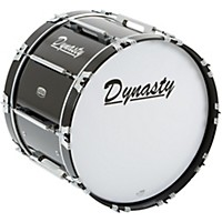 Dynasty Marching Bass Drum Black 22 X 14  ...