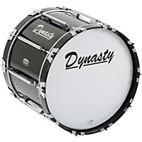 Dynasty Marching Bass Drum Black 20 X 14  ...