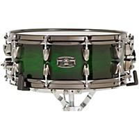 Yamaha Live Custom Snare Drum 14 X 5.5 In. Emerald Shadow Sunburst
