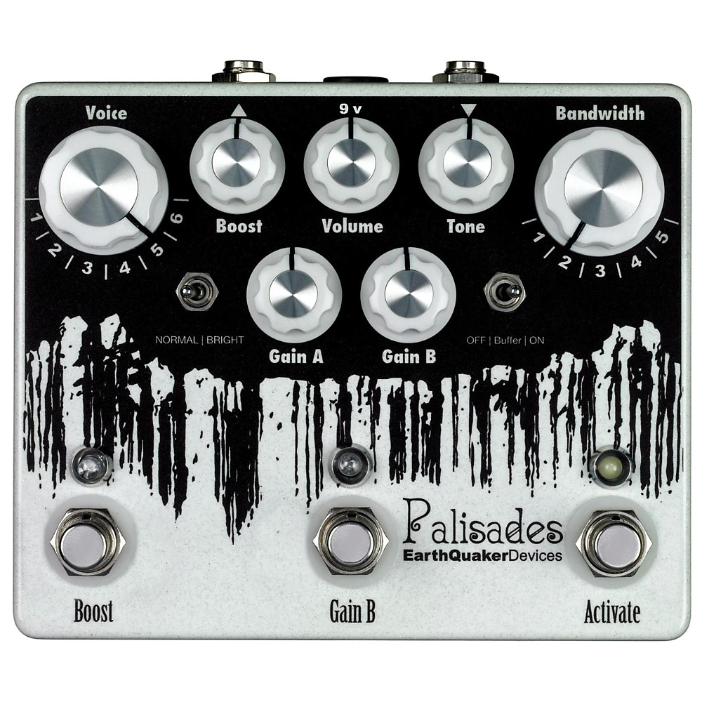 EarthQuaker Devices Palisades Mega Ultimate Overdrive Guitar Effects Pedal 1401720420180