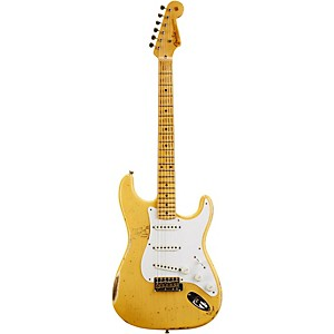 Fender Custom Shop 1954 Heavy Relic Stratocaster Electric Guitar Nocaster Blonde