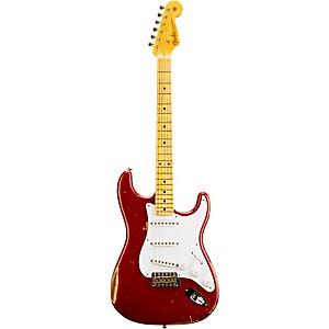 Fender Custom Shop 1954 Heavy Relic Stratocaster Electric Guitar Bright Amber Metallic
