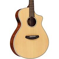 Breedlove Pursuit Concert Bubinga Acoustic-Electric Guitar Natural With Usb