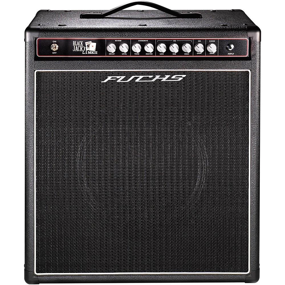 Amps And Effects Brand Fuchs Is A Music Equipment 21w Class Ab Amplifier Black Jack 1x12 Tube Guitar Combo Amp