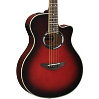 Yamaha Apx500iii Thinline Cutaway Acoustic-Electric Guitar Dusk Sun Red