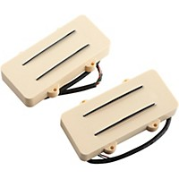 Jbe Pickups (Barden) Jm Two/Tone Guitar Bridge And Neck Pickup Set For Jazzmaster Cream
