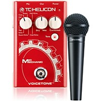 Tc Helicon Voicetone Mic Mechanic With Drv100 Mic Bundle