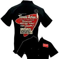 Fender Tremolo Work Shirt Black Large