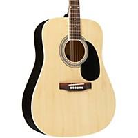 Savannah Sgd-10 Dreadnought Acoustic Guitar Natural