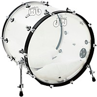 Dw Design Series Acrylic Bass Drum With  ...