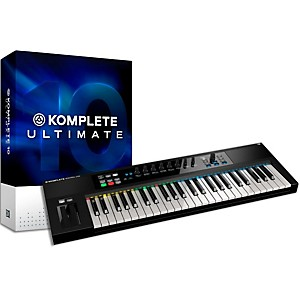 Native Instruments Komplete 10 Ultimate And Kontrol S49 Keyboard Bundle