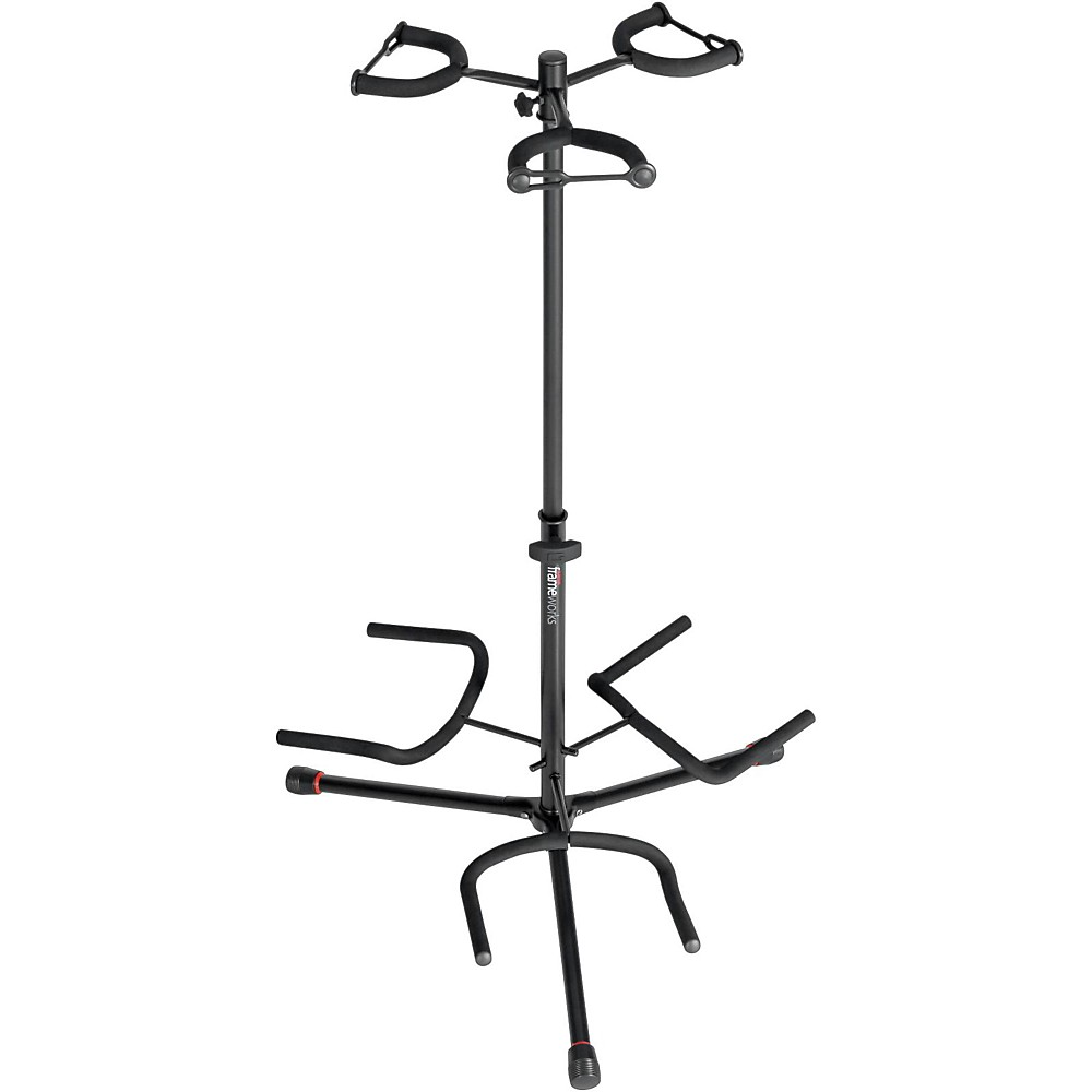 3. Gator Frameworks Adjustable Triple Guitar Stand