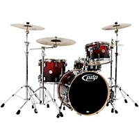 Pdp Concept Maple 4-Piece Shell Pack Red To  ...
