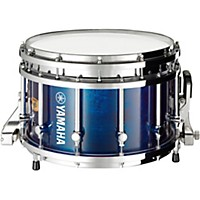 Yamaha Piccolo Sfz Marching Snare Drum 14 X 9 In. Blue Forest With Chrome Hardware