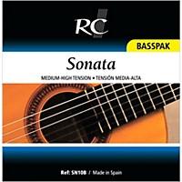 Rc Strings Sn10b Sonata Basspak Medium High 4Th, 5Th And 6Th Strings For Nylon String Guitar