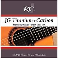 Rc Strings Ttc30 Jg Titanium/Carbon Medium-High Tension Nylon Guitar Strings