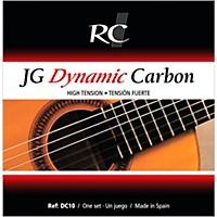 Rc Strings Dc10 Jg Dynamic Carbon High Tension Nylon Guitar Strings With Carbon Trebles.