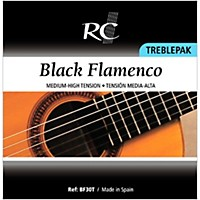 Rc Strings Bf30t Black Flamenco Treblepak  ...