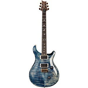Prs 30Th Anniversary Custom 24 Figured Maple Top Electric Guitar Faded Whale Blue