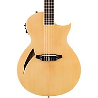 Esp Ltd Tl-6N Thinline Nylon String Acoustic-Electric Guitar Natural