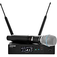 Shure Qlx-D Digital Wireless System With Beta 87A Condenser Microphone Band J50