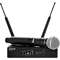 Shure Qlx-D Digital Wireless System With Sm58 Dynamic Microphone Band J50