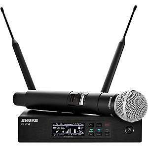 Shure Qlx-D Digital Wireless System With Sm58 Dynamic Microphone Band J50