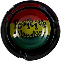 C&D Visionary Positive Vibration Glass Ashtray