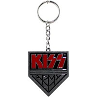 C&D Visionary Kiss Army Metal Key Chain