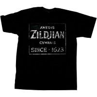 Zildjian Vintage Sign T-Shirt Black Large