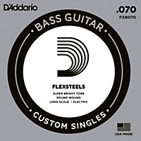 D'addario Flexsteels Long Scale Bass Guitar  ...