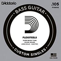 D'addario Flexsteels Long Scale Bass Guitar Single String (.105)