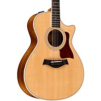 Taylor 412Ce Cutaway Grand Concert Acoustic-Electric Guitar Natural