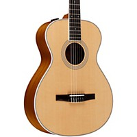 Taylor 412E-N Grand Concert Nylon String Acoustic-Electric Guitar Natural