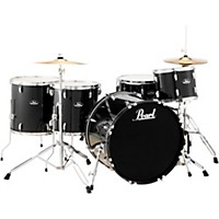 Pearl Roadshow 5-Piece Rock Drum Set Jet  ...
