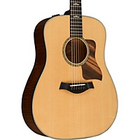 Taylor 2015 610E Dreadnought Acoustic-Electric Guitar Regular Natural
