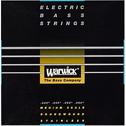 Warwick Black Label 4-String Piccolo Nickel Bass Strings