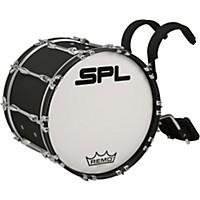 Sound Percussion Labs Birch Marching Bass Drum 22 X 14 In. Black