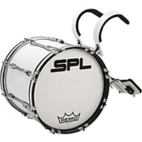 Sound Percussion Labs Birch Marching Bass Drum 16 X 14 In. White