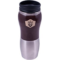 Guild Stainless Travel Mug Brown
